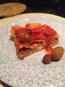 lasagna baccà in piatto