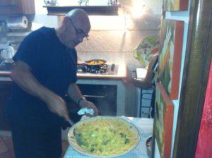 pasta e patate pronti per servire